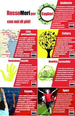RossoMori per Cagliari Programma