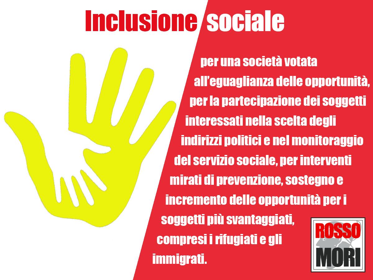 Rossomori Inclusione sociale