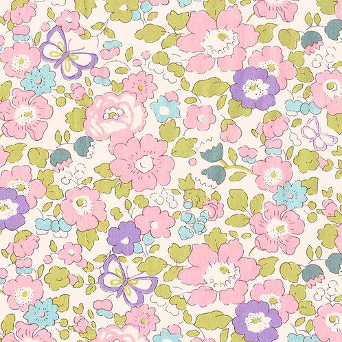 Betsy Butterfly(Blossom) Liberty Tana Lawn 135x50cm