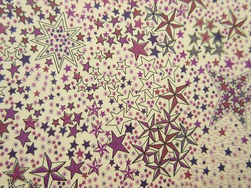 【ラミネート】Adelajda(Purple) Liberty  110x50cm