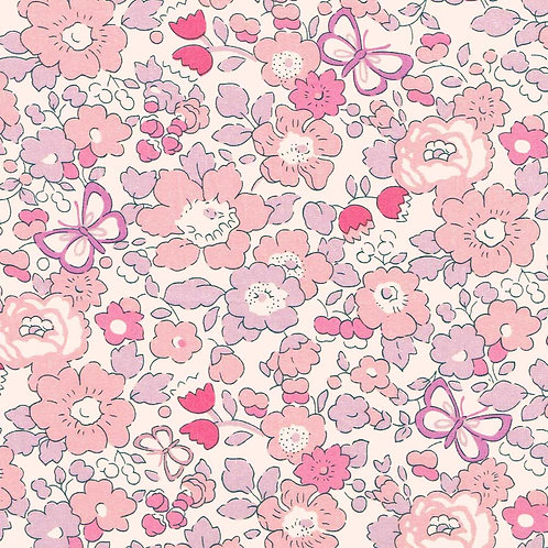 Betsy Butterfly(Rose) Liberty Tana Lawn 135x50cm
