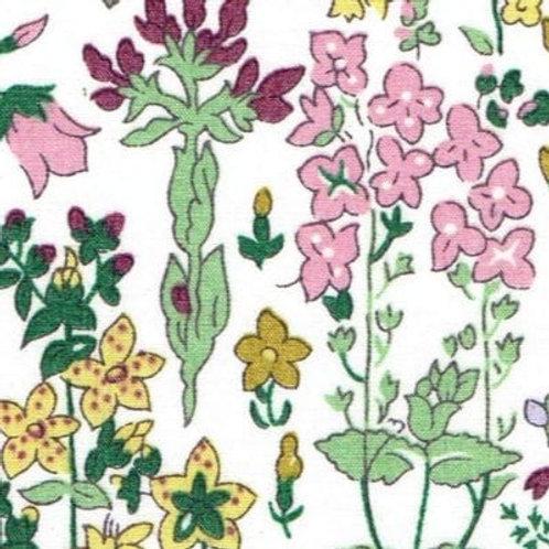 Field Flowers(A) Liberty Organic Tana Lawn 137x50cm