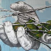 Hands. Detail.