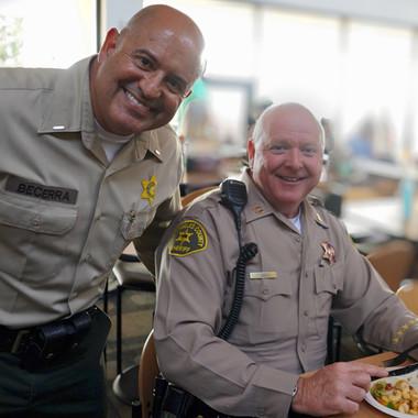 Sgt. Becerra & Capt. Nee