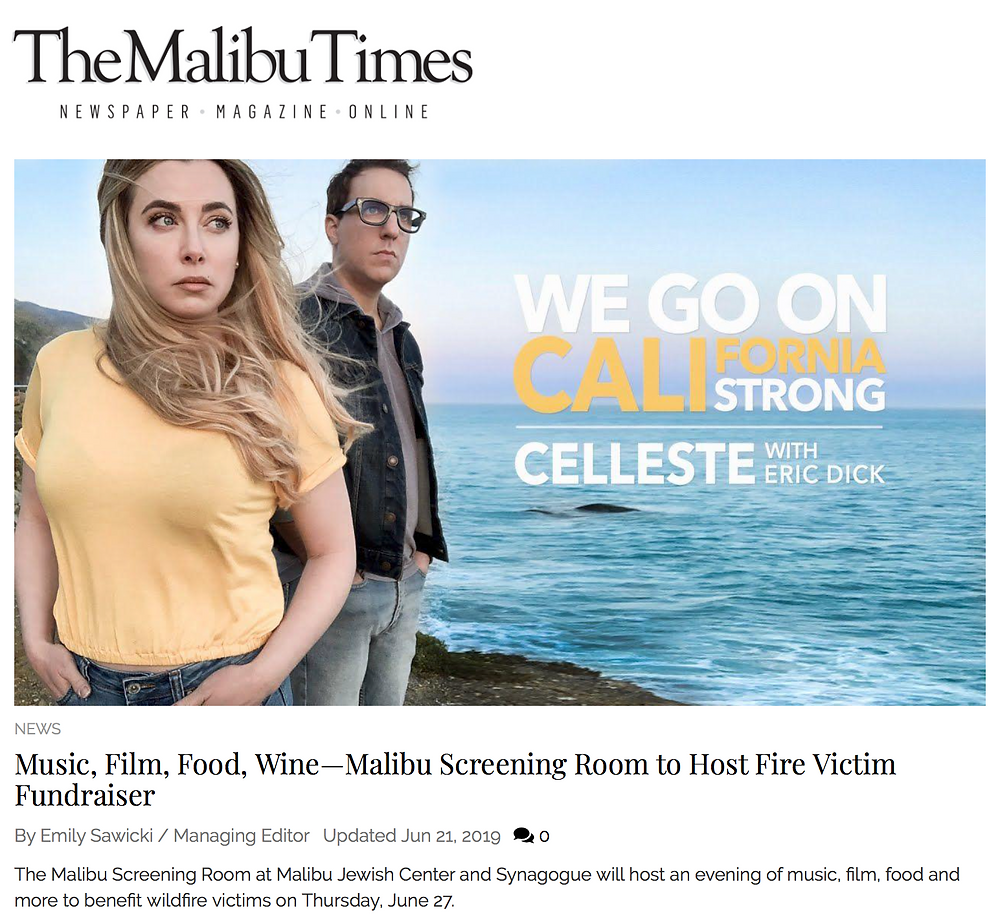 Malibu Times Feature Celleste & Eric