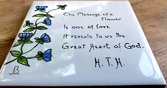 Flower message from Henry T. Hamblin.jpg