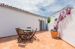 El Ático - private terrace