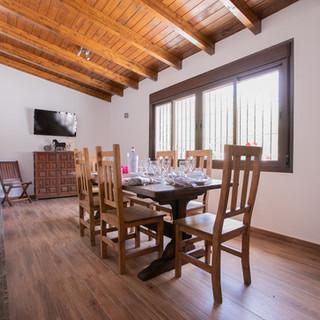Communal breakfast room