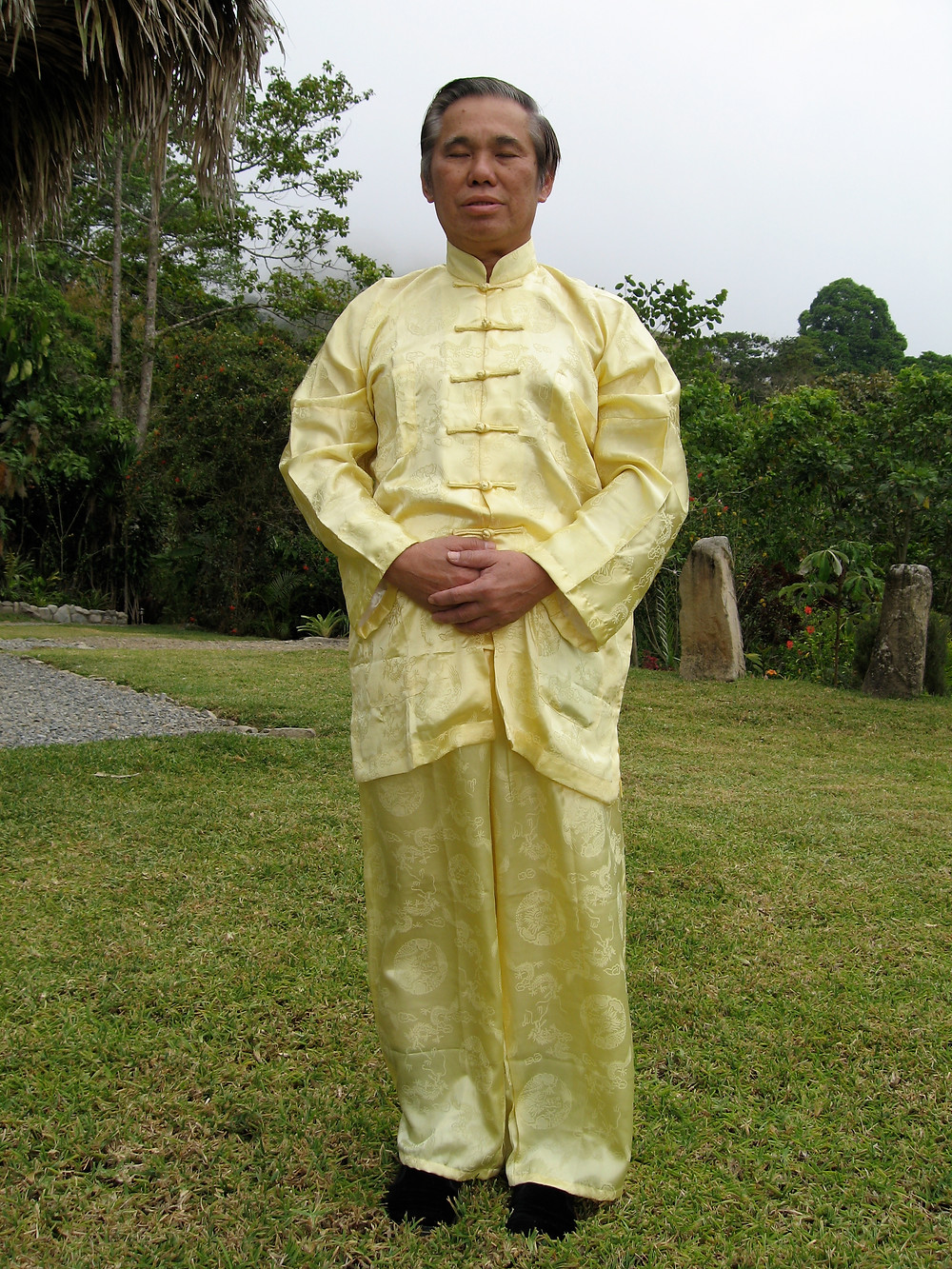 Grandmaster Wong Kiew-Kit Dantian Breathing