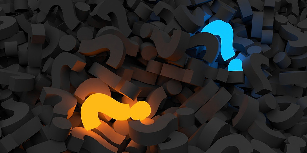 Question marks in a pile what qigong exercises to practice