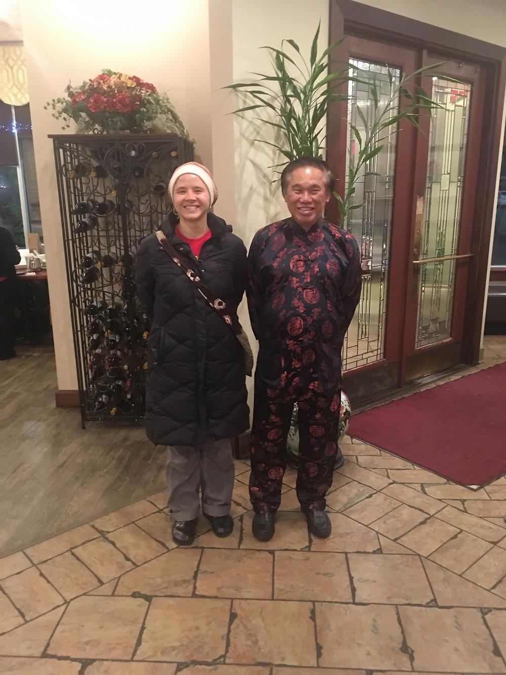 Grandmaster Wong Kiew-Kit Sifu Molly Kubinski Shaolin Wahnam Twin Cities Peking Garden Restaurant