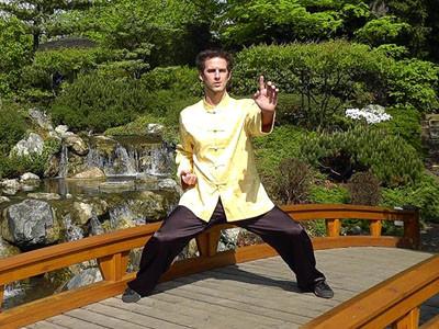 Sifu Leonard Lackinger Shaolin Wahnam Wien One-Finger Shooting Zen