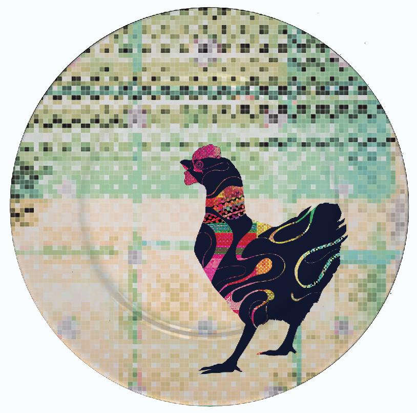 Gallinas Plate Design 2--©2020 Adolfo Va