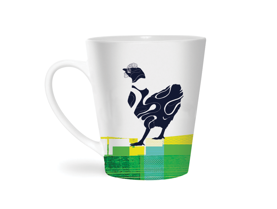 Gallinas Mug Design--©2020 Adolfo Valle Studios -- All Rights Reserved