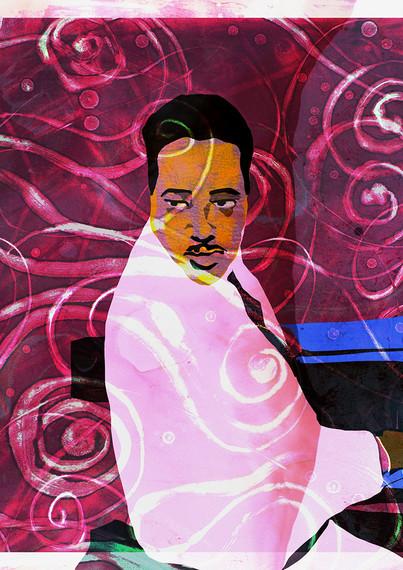 Duke Ellington @Adolfo Valle Studios