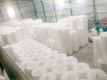 Nuestra nueva planta de fabricación de plástico de burbujas