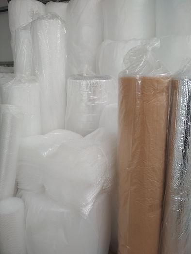 Amplia variedad de plástico de burbujas