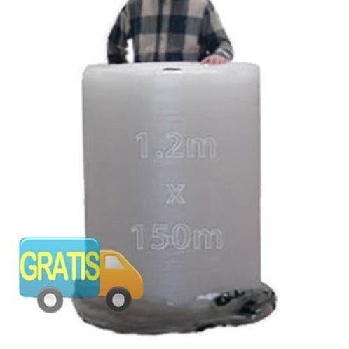 Rollo de plástico de burbujas 1,20 x 150m 40gr
