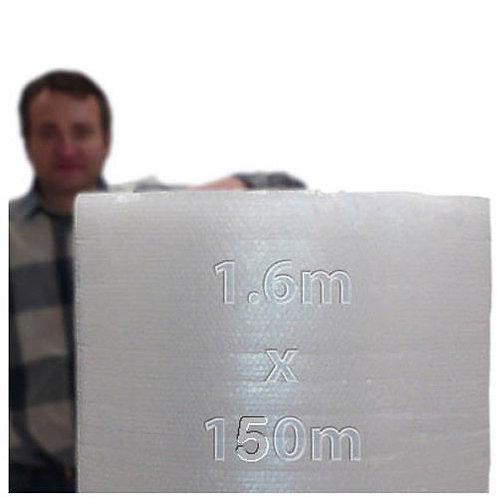 Rollo de plástico de burbujas 1,60 x 150m 40gr