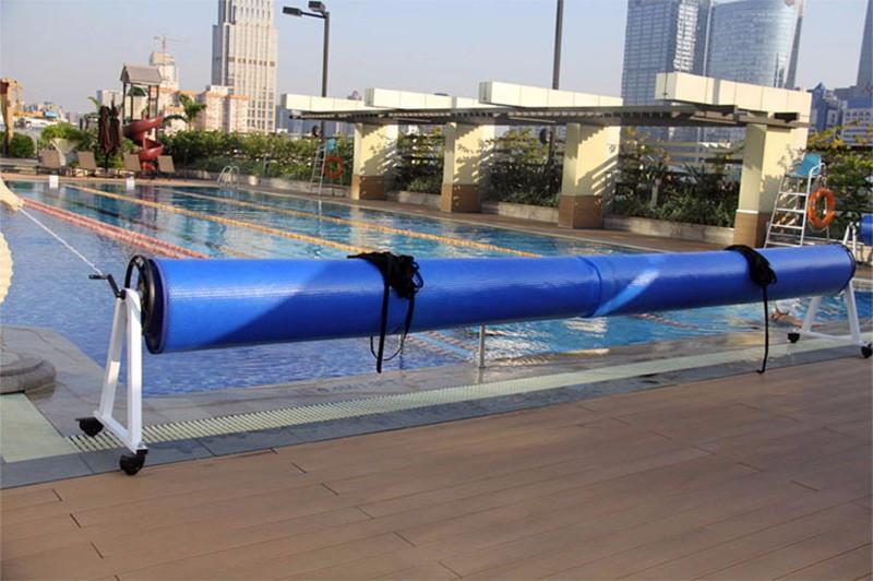 Mante térmica de plástico de burbujas para piscinas