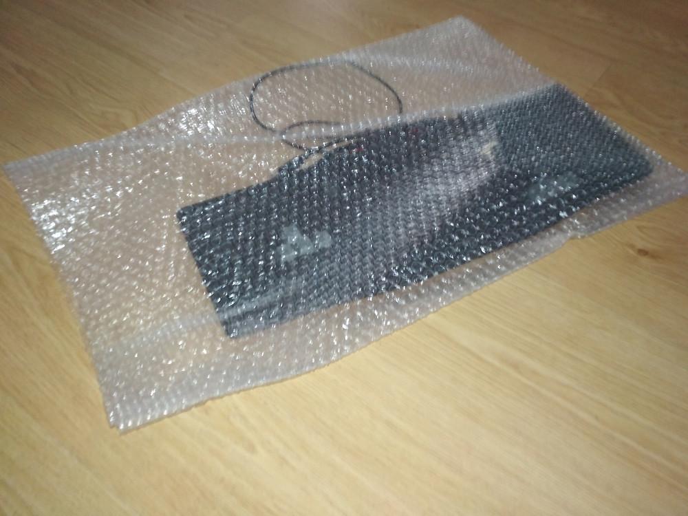 bolsa de plástico de burbujas
