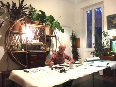 Patrick, calligraphe en herbe | Praticien de Shiatsu confirmé