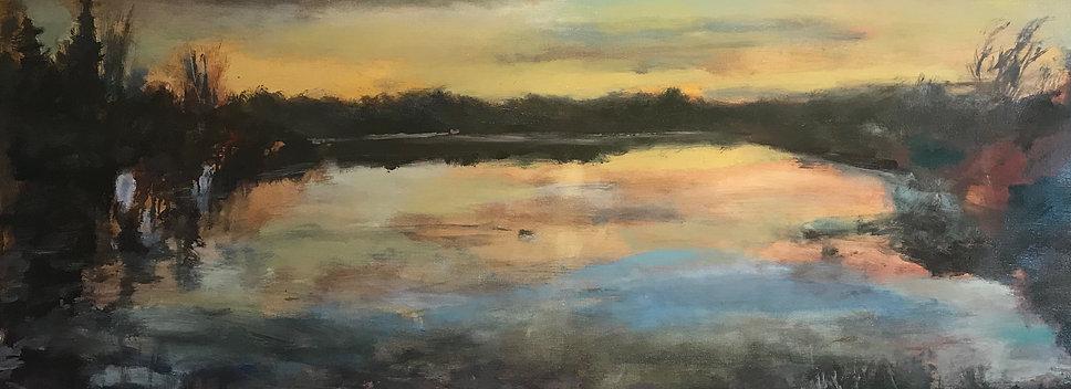 The Lagoon at Dawn