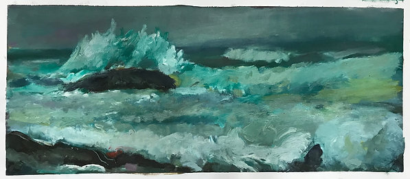 The Wave Clayoquot Sound (19 x 44 inches)