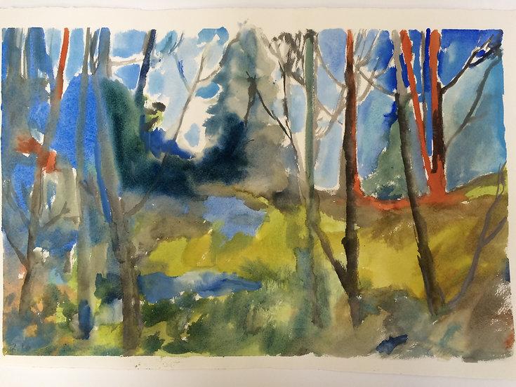 Rainforest Abstract 1