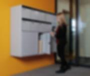 Paketbox-Anlagen von Schweizer