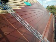 CSEM_Ziegelrote_Solrif-gerahmte_Solarmod