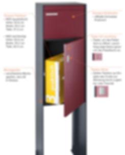 Die PaketboxCasa im Detail erkärt