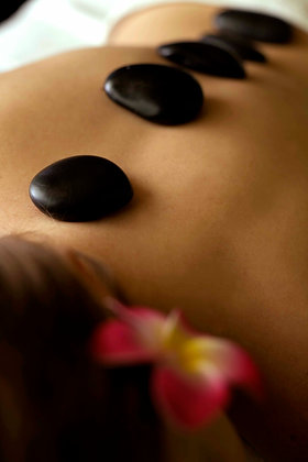 2 hrs Aroma+Hot Stone Massage