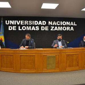 El Programa de Inversión en Infraestructura Universitaria llega a Lomas de Zamora y Lanús