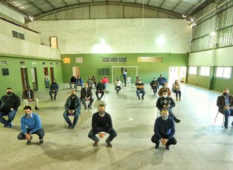 Clubes en Obra llega a Esteban Echeverría