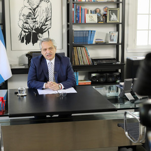 """Fernández: """"Queremos ordenar una economía que se ha desordenado"""""""