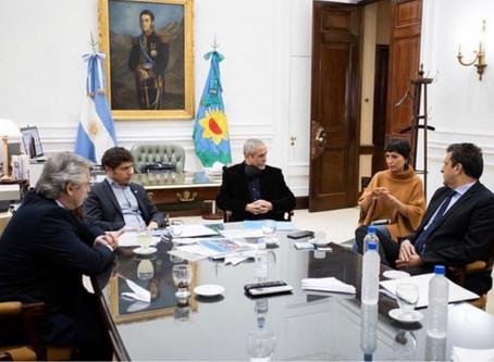 Villa Azul: Los intendentes de Avellaneda y Quilmes gestionan plan de obras de viviendas