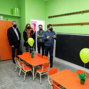 Avellaneda: Ferraresi y Arroyo inauguraron un jardín de infantes en Villa Domínico
