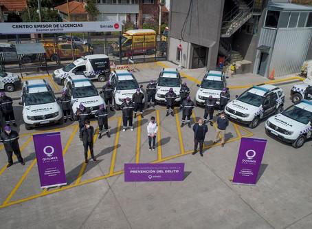 Quilmes: Presentan 10 nuevas patrullas urbanas para la prevención del delito