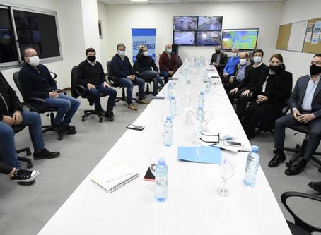 Políticas sociales: Intendentes de la región se reunieron con el ministro Arroyo