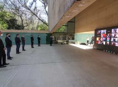 El PJ bonaerense le rindió homenaje a Juan Domingo Perón por el 125 aniversario de su natalicio