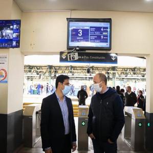 Coronavirus: Instalan una cámara termográfica en la estación de trenes de Lomas