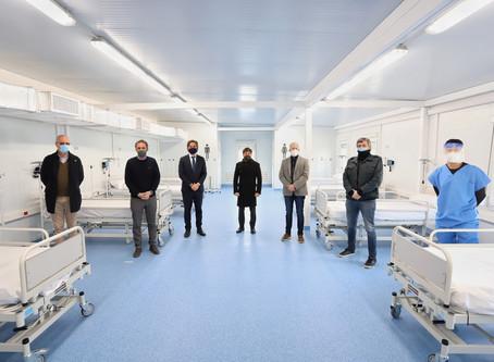 Lomas de Zamora: Inauguraron un Hospital Modular en Villa Fiorito