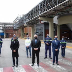 Fernández presentó la ampliación de Ahora 12 y destacó la inversión de Cervecería Quilmes