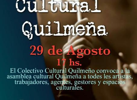 El Colectivo Cultural Quilmeño convoca a la Primera Asamblea de la Cultura Popular