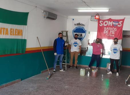 Jornada de trabajo solidario: Masiva participación en 1000 clubes de barrio de todo el país