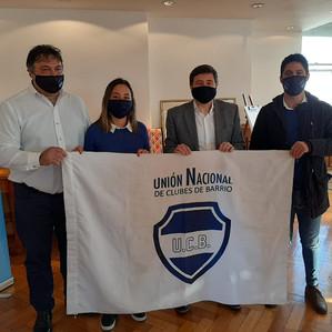 La Unión Nacional de Clubes de Barrio se reunió con el ministro Daniel Arroyo e intendentes