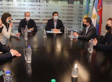 Nación otorgó una ayuda financiera de un millón de dólares para Lomas de Zamora y F. Varela