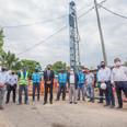 Argentina Hace: Mussi y Katopodis recorrieron obras en Berazategui