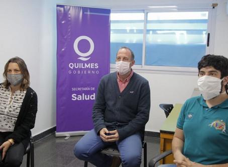 Lanzamiento del plan Quilmes Telesalud